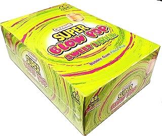 sour lollipops with gum