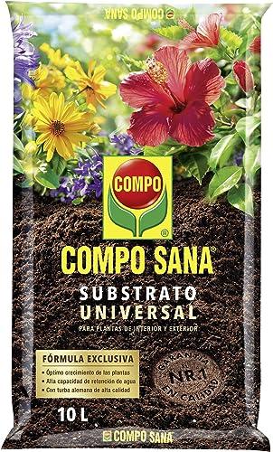 Compo Sana Universal de Calidad para macetas con 12 semanas de abono para Plantas de Interior, terraza y jardín, Subs...