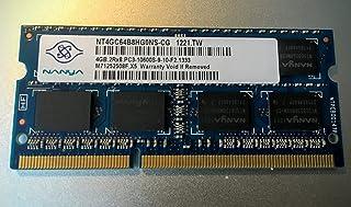 Nanya 4GB (1x 4GB) DDR31333MHz (PC310600S portátil) So DIMM Memoria RAM Memory