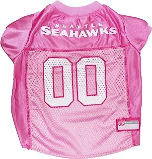 Pets First NFL Seattle Seahawks Jersey, Medium, Pink