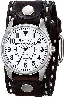 ネメシスMen 's 095dbdst-w Uniqueシリーズアナログディスプレイ日本クォーツブラウン腕時計