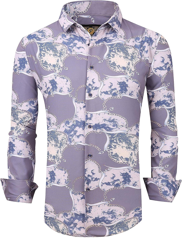 Bargain sale Men's Premiere Animer and price revision Designer Fashion Dress L Casual Shirt Woven