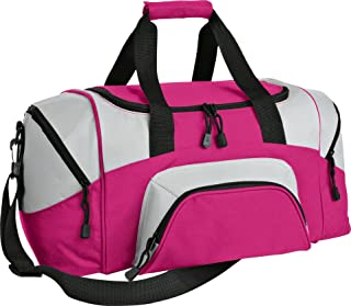 Port & Company luggage-and-bags Colorblock Sport Duffel OSFA Tropical Pink