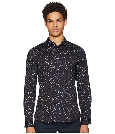 Paul Smith Long Sleeve Pin Dot Shirt
