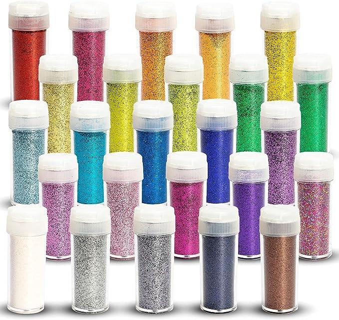 146 opinioni per Tritart- Set di Glitter Fini, 25 x 10 g (250 g)