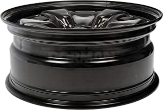 Dorman 939-173 Black Wheel with Painted Finish (18 x 7.5 inches /5 x 120 mm, 38 mm Offset)