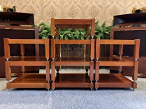 Lansing Audio (10 Shelves) 100% Natural ash Wood Shelves Handcrafted for Holding amplifiers Mcintosh, accuphase, Altec vv…