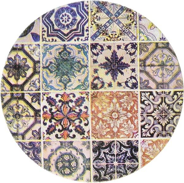 Thirstystone Stoneware 里斯本瓷砖杯垫多色