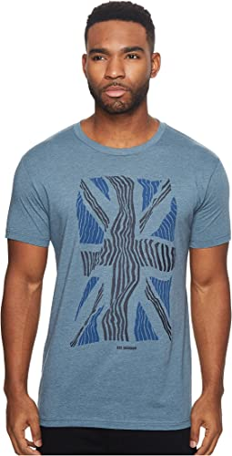 Ben Sherman - Short Sleeve Union Warp Graphic Tee