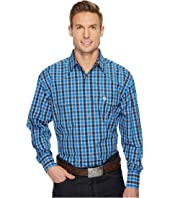 Wrangler - Long Sleeve George Strait Snap Plaid