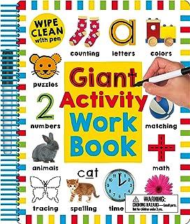 Wipe Clean: Giant Activity Workbook
