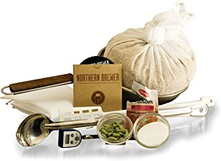 BIAB Brew-In-A-Bag All Grain Beer Brewing Starter Kit With 3 Gallon Caribou Slobber Recipe