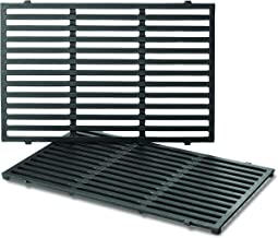 Weber Series Gas Grills 7638 Porcelain-Enameled Cast Iron Cooking Grates for Spirit 300, (17.5 x 0.5 x 11.9 inches), Pack ...