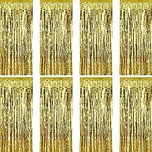 Best gold foil curtains Reviews