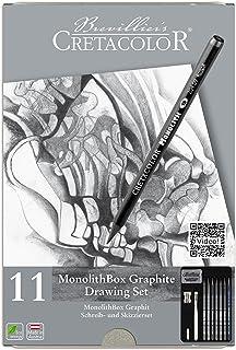 Cretacolor 204 30 Monolith Set 11 Pieces with Eraser and Sharpener