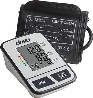 Drive Medical Economy Upper Arm Blood Pressure Monitor, White