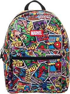 Marvel Comics Classic Comic Book Covers All-Over Print 16' Backpack