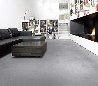 abriebfester PVC Bodenbelag Meterware 2 Farben CV Belag Fairplay 100 x 100 cm, Schwarze