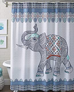 elephants garden fabric