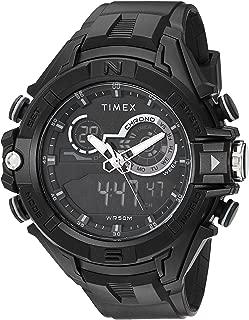 Men's TW5M23300 DGTL Guard Bold Combo 47mm Black/Negative Resin Strap Watch