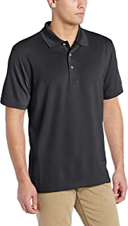 Men's Essential Textured Performance Polo Shirt