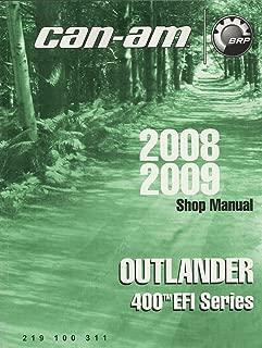 2008,2009 CAN-AM ATV OUTLANDER 400 EFI SERIES SHOP/SERVICE MANUAL (751)