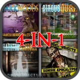 Haunted Hidden Objects Quest 4-in-1 Game Bundle Pack 2