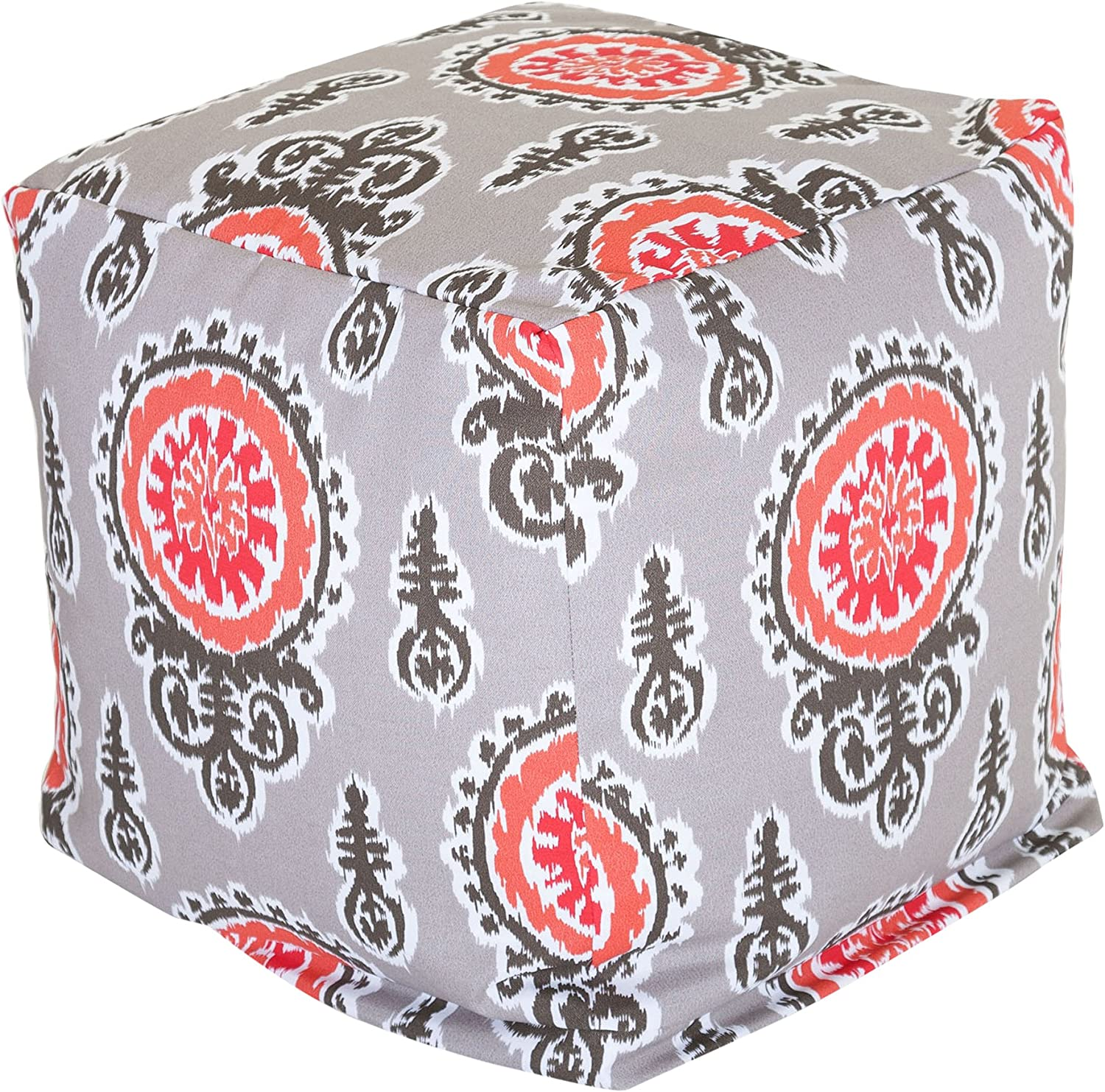 Majestic Home Goods Salmon Michelle Small Cube
