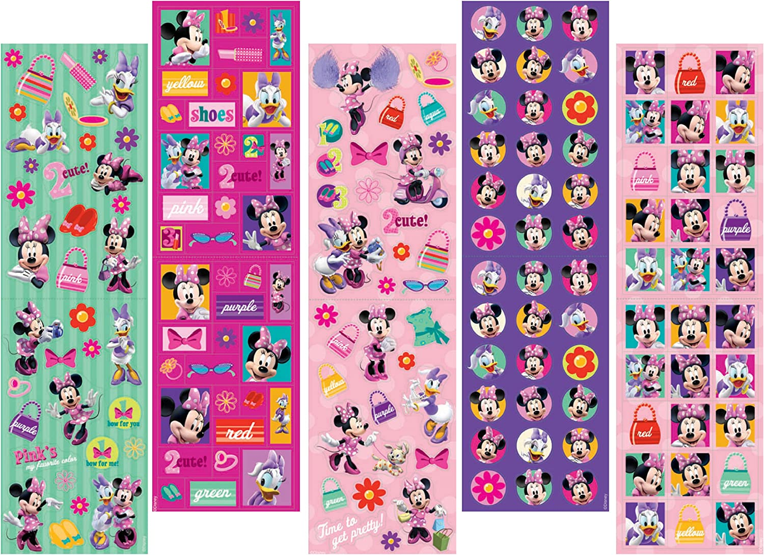 Minnie Mouse 350 stickers by Amscan B006MHMO4K | Adoptieren