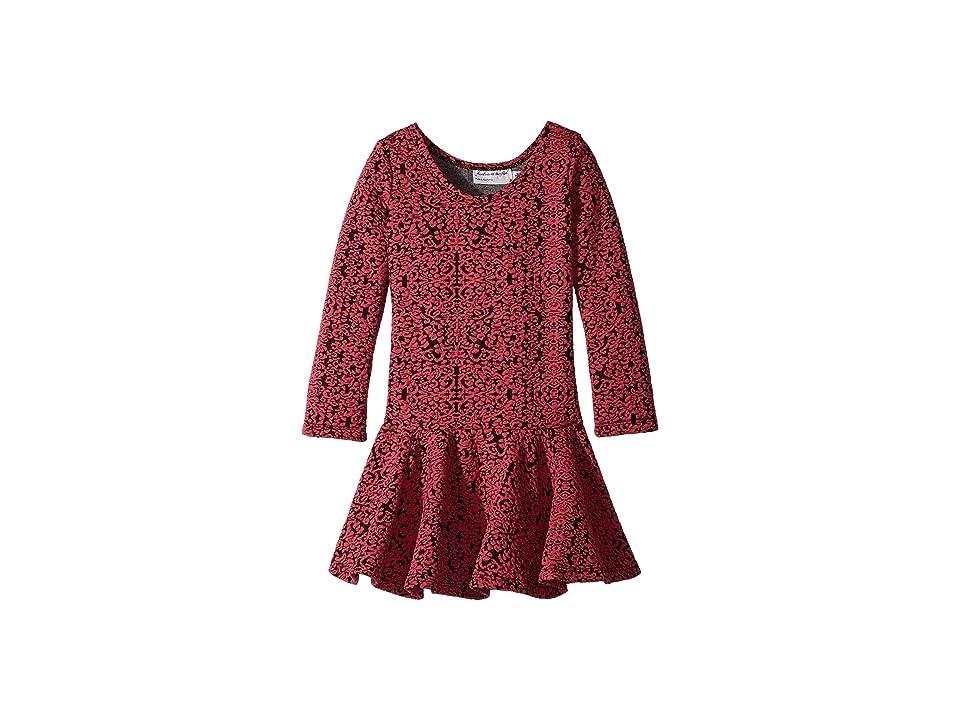 fiveloaves twofish Georgia Dress (Toddler/Little Kids) (Fuchsia) Girl