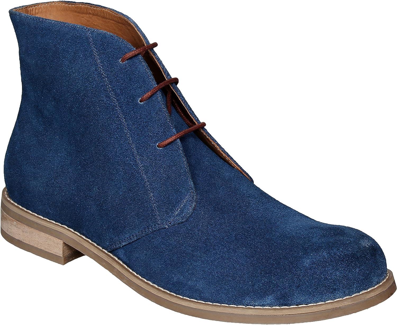 Lozano bluee Suede Chukka Boots Casual shoes bluee
