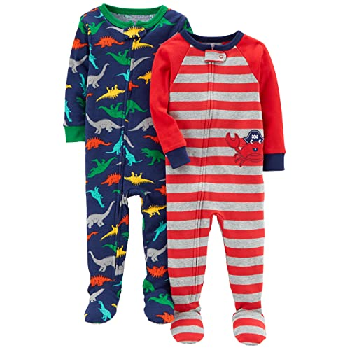 90ebae4798cd Carter s Baby Boy Pajamas  Amazon.com