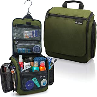Hanging Travel Toiletry Bag for Men and Women – Large Cosmetics, Makeup and Toiletries..