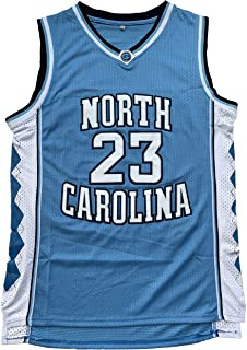 0a8360c04355 North Carolina Tar Heels  23 College Style Basketball Jersey Blue Black