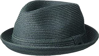 Bailey of Hollywood Men's Billy Braided Fedora Trilby Hat