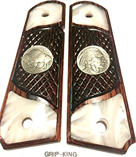 mother of pearl 1911 grips for sale