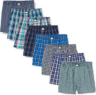 Amazon Brand - Hikaro Men's Cotton Boxers, Pack of 8