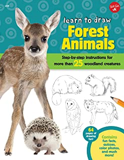 forest and animals drawing