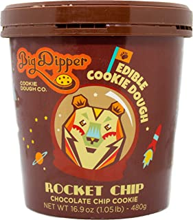 Chocolate Chip Edible Cookie Dough (Rocket Chip) (1)