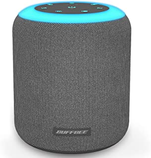BUFFBEE White Noise Sound Machine with Soothing Sounds for Sleeping with Night Light, Timer and Memory Function, Fabric De...