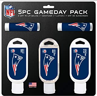 Worthy Promotional NFL Game Day 5-Pack with 2 Lip Balms, 2 Hand Sanitizers, 1 Hand Lotion