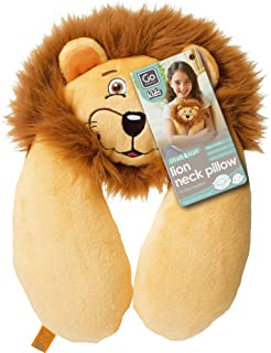 Go-Travel Kids Lion Neck Travel Pillow, Beige, 2702