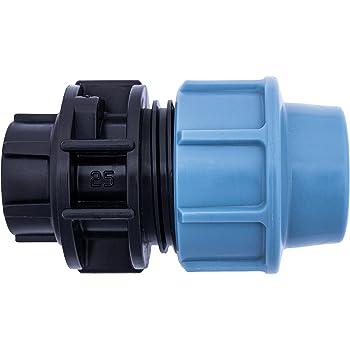 Accesorios de Compresión MDPE Plástico Tamaño 25mm para Pipa de Agua