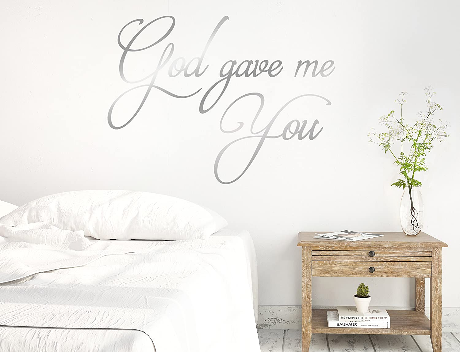 Bedroom Decal Home Decor Quote Every Love Story Bible Verse Marriage Wall Paper Party Supplies Stickers Labels Tags
