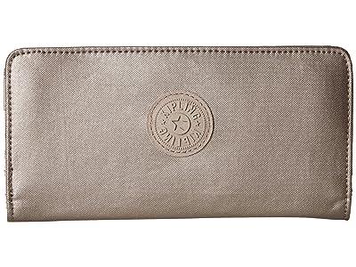 Kipling Joanna Wallet (Metallic Pewter) Bi-fold Wallet