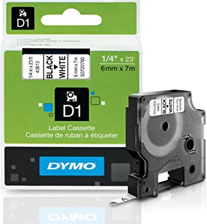 Label Making Buy Cheap Dymo Standard D1 Labeling Tape For Labelmanager Label Makers Black Print On