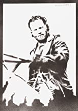 Rick Grimes Poster The Walking Dead Plakat Handmade Graffiti Street Art - Artwork