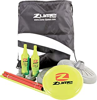 Zume Games Bottle Battle Disc-Throwing Outdoor Target Game for Ages Six and Older