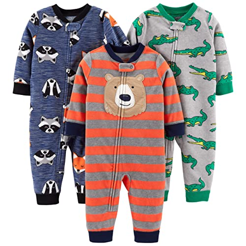 Carters Baby Boys 1 Pc Fleece 327g106 Blue Dogs, 6 Months