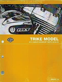 2014 Harley-Davidson Trike Model Parts Catalog, Harley Part Number 99602-14
